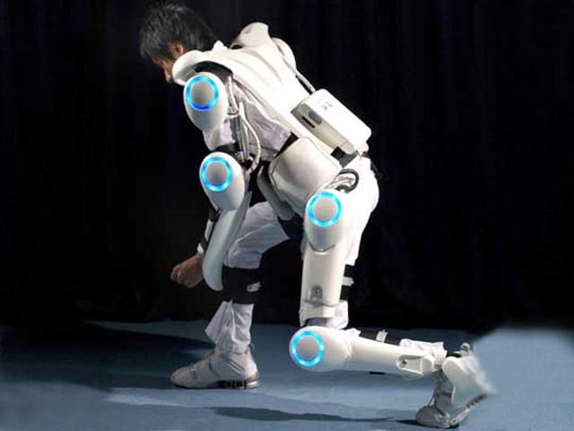 HAL® by Cyberdyne systems Disaster Recovery model has a whole-body frame made of titanium and a radiation shielding jacket - cyberpunk tech today