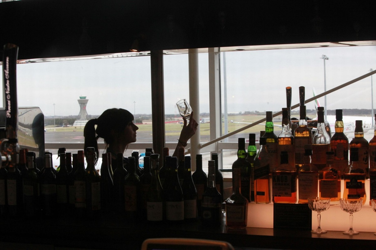 Musings by David J Rodger from Newcastle airport Departure lounge