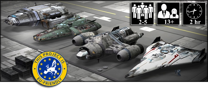 Shadowstar Corsairs by Ryan Wolfe kickstarter campaign science fiction boardgame based on starships, commerce, politics and combat