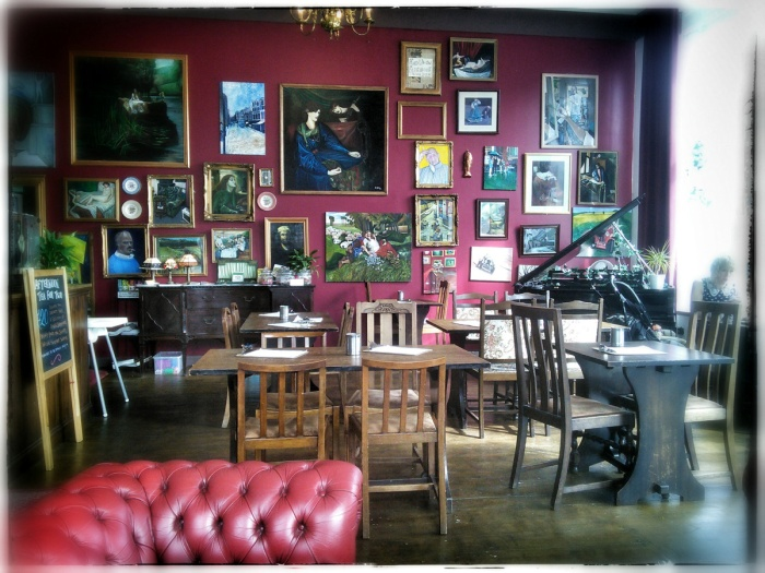 Best coffee in Newcastle Upon Tyne and one of my favourite cafes in world The Wild Trapeze - photo David J Rodger