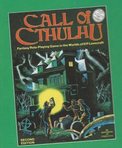 Call of Cthulhu second edition box cover