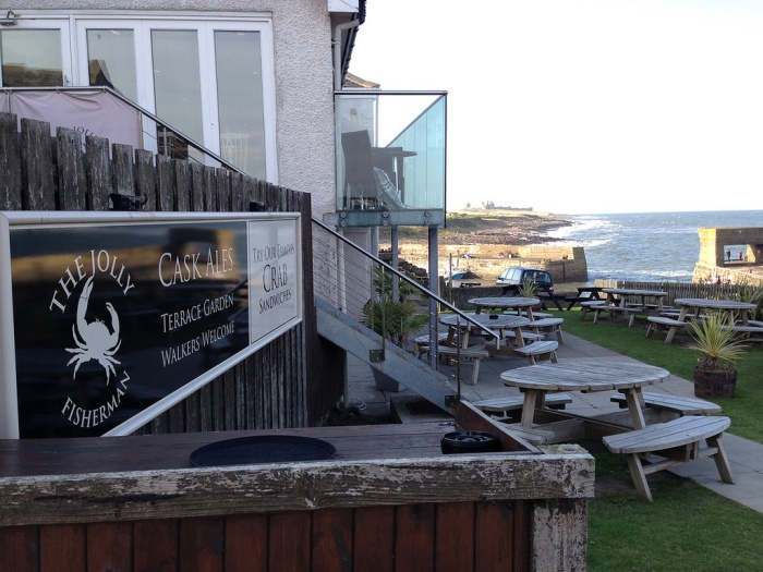 The Jolly Fisherman Craster - fantastic atmosphere good food and ale with views of the sea