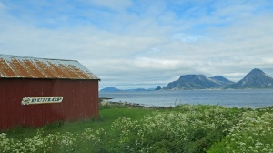 Travel photo - driving Fv186 through Glein to Donnesfjell - Norway - Image David J Rodger