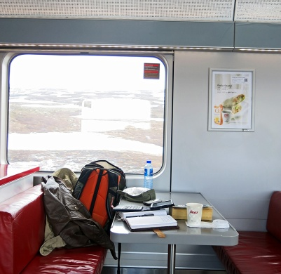travel photo - Norway Arctic Circle - crossing the polar circle by NSB train photo David J Rodger