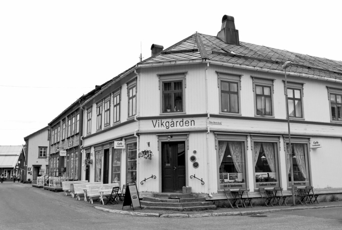 Vikgården Village Shop and Coffee bar - best cafe in North of Norway - Mosjøen, Sjøgata