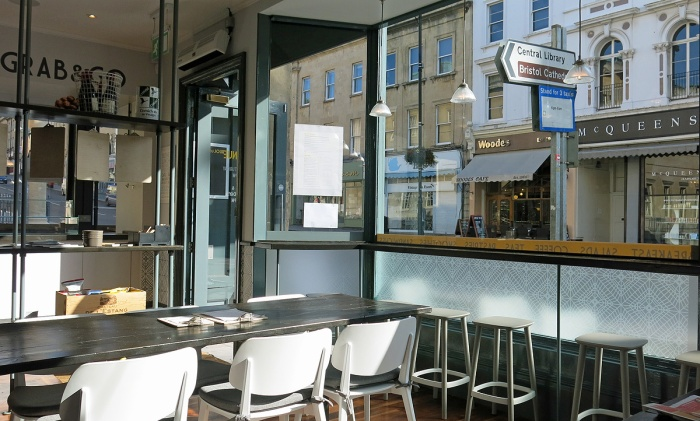 Café Du Jour  Bristol - slice of Euro bliss in the heart of England - best coffee At 7 o'clock in the morning - image David J Rodger