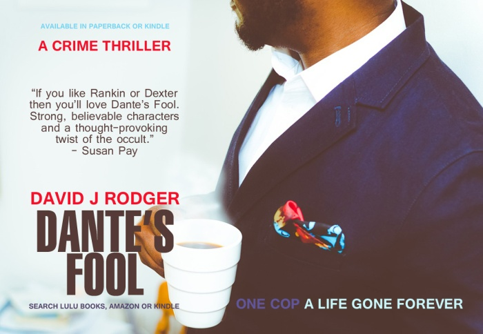 Dante's Fool a crime thriller with occult horror twist by David J Rodger (2)