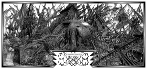 R'lyeh H P Lovecraft's Cthulhu Mythos and house where the Great Old One slumbers - dreaming