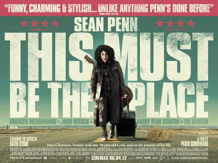 this-must-be-the-place (2011) movie poster - sean penn