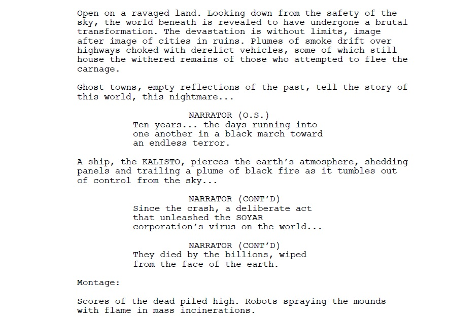 Tips on how to write a horror script